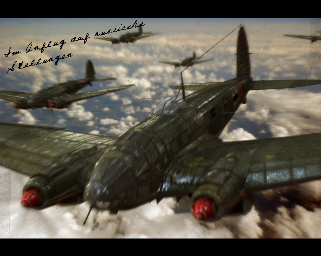 Heinkel He-111H Wallpaper