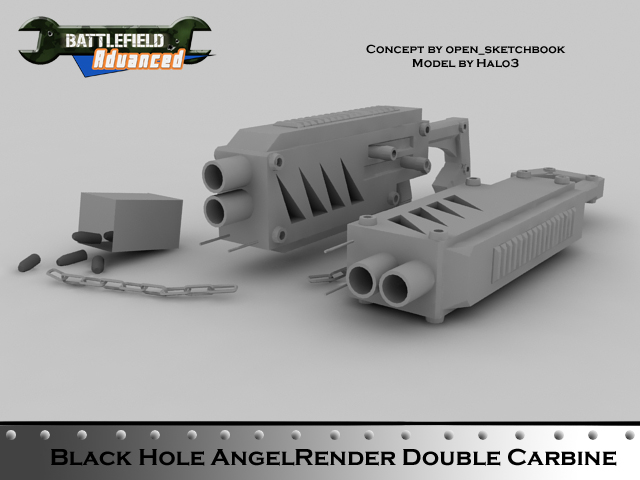 AngelRender Double Carbine