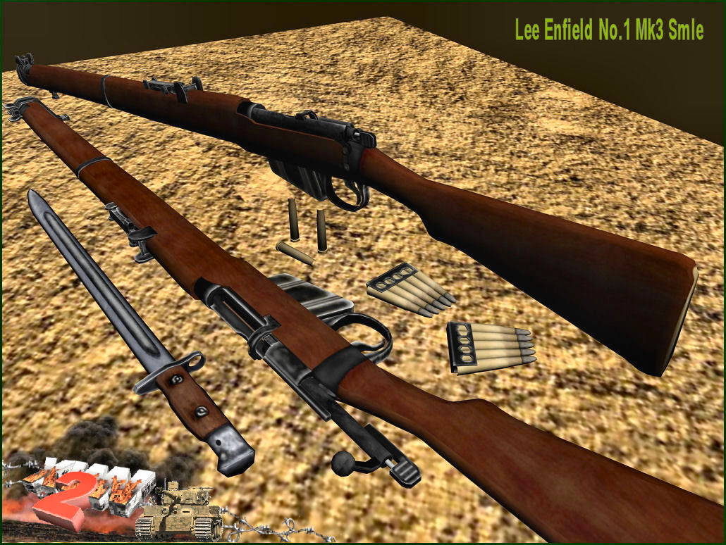 Lee-Enfield No.1 SMLE