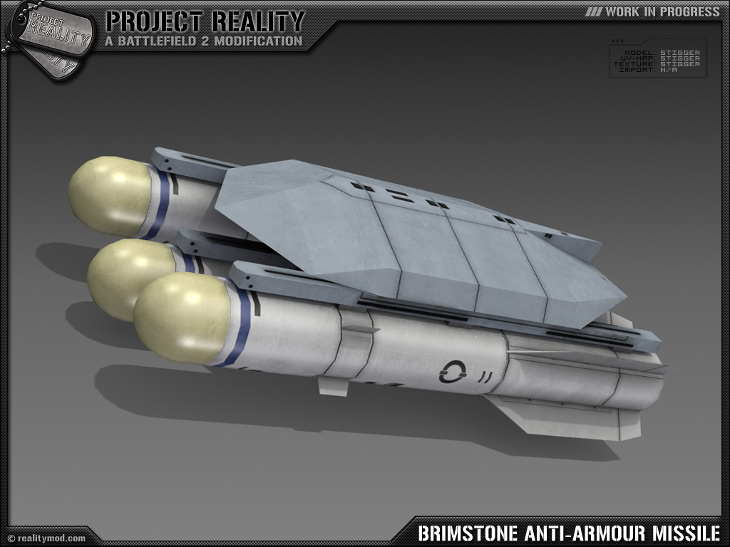 Brimstone Anti-Armour Missle