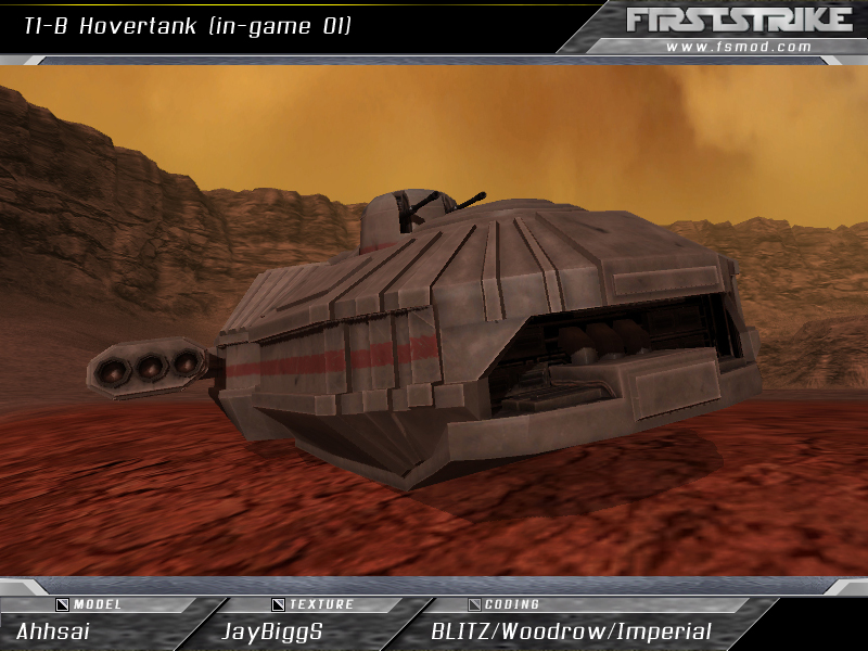 T1-B Hovertank