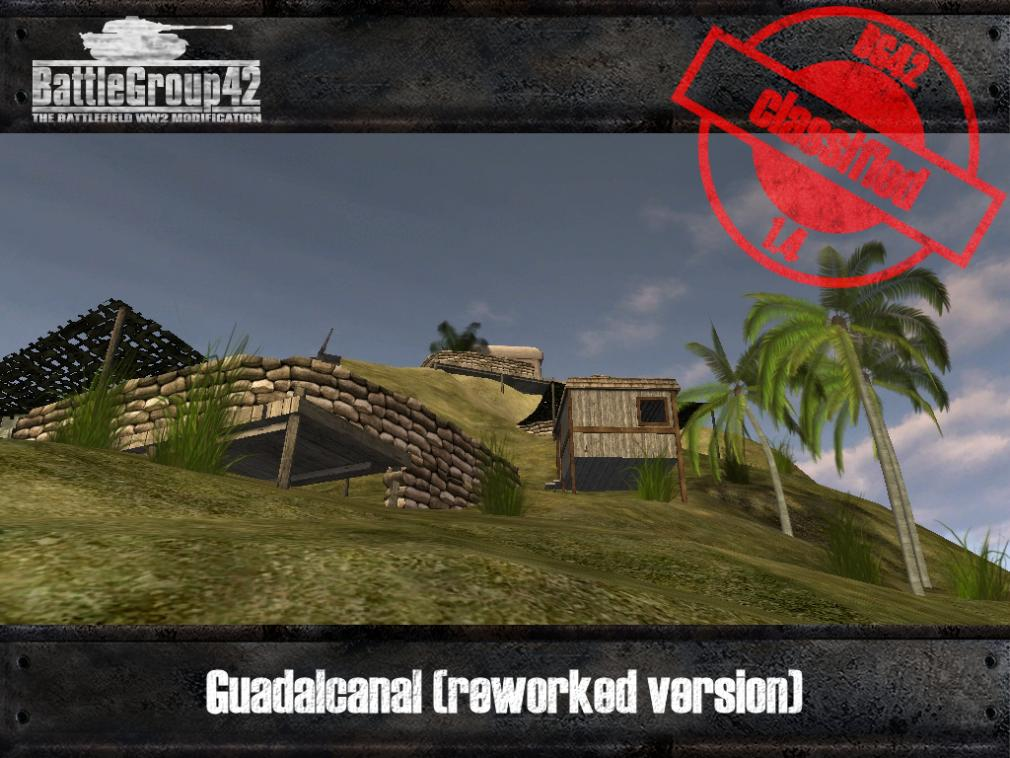Guadalcanal reworked