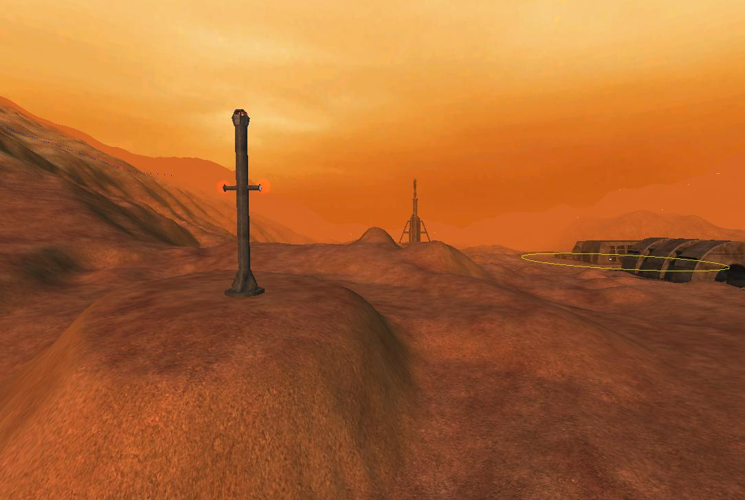 Martian trade highway Beacon