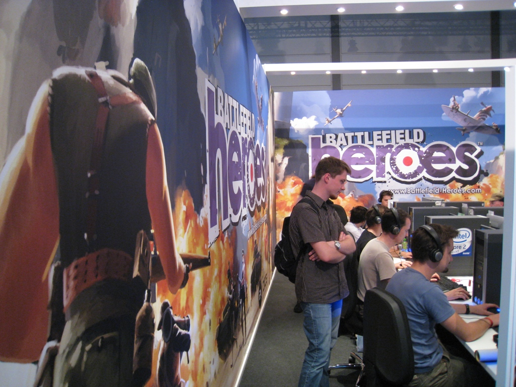 Games Convention ESL-Stand