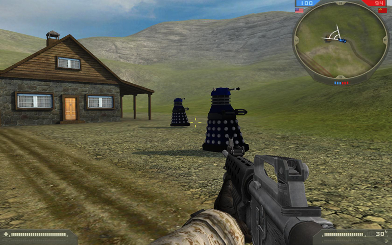 Marines vs Daleks