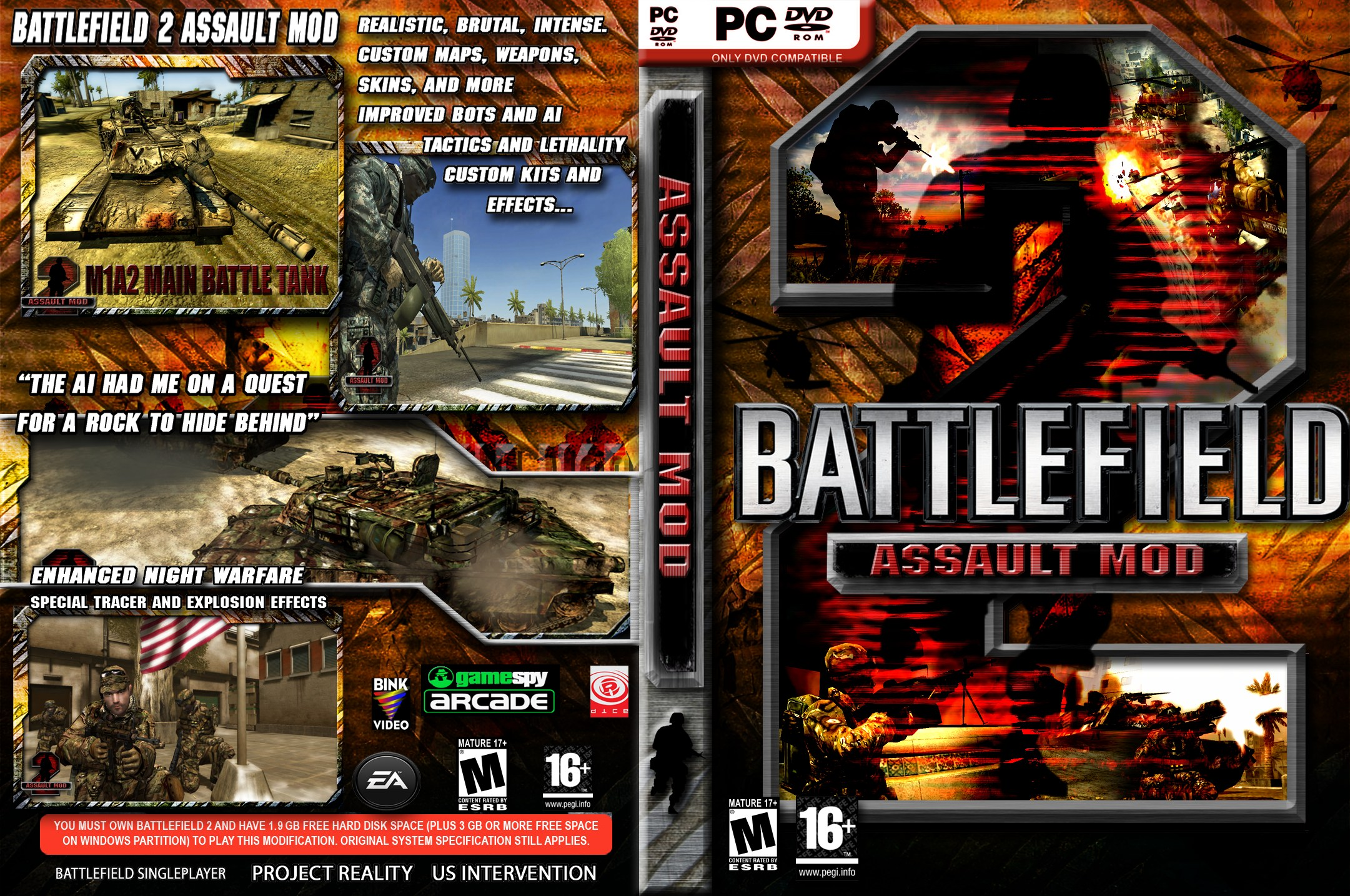 BF2 Assault DVD Cover