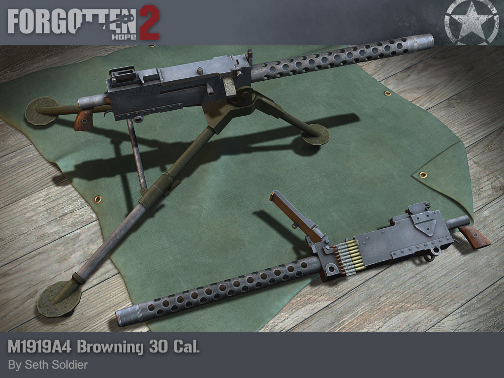 Browning M1919A4