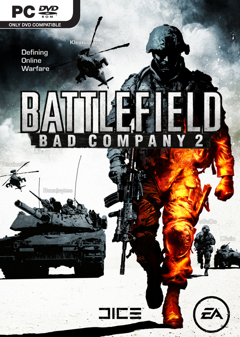 Bad Company Packshot PC