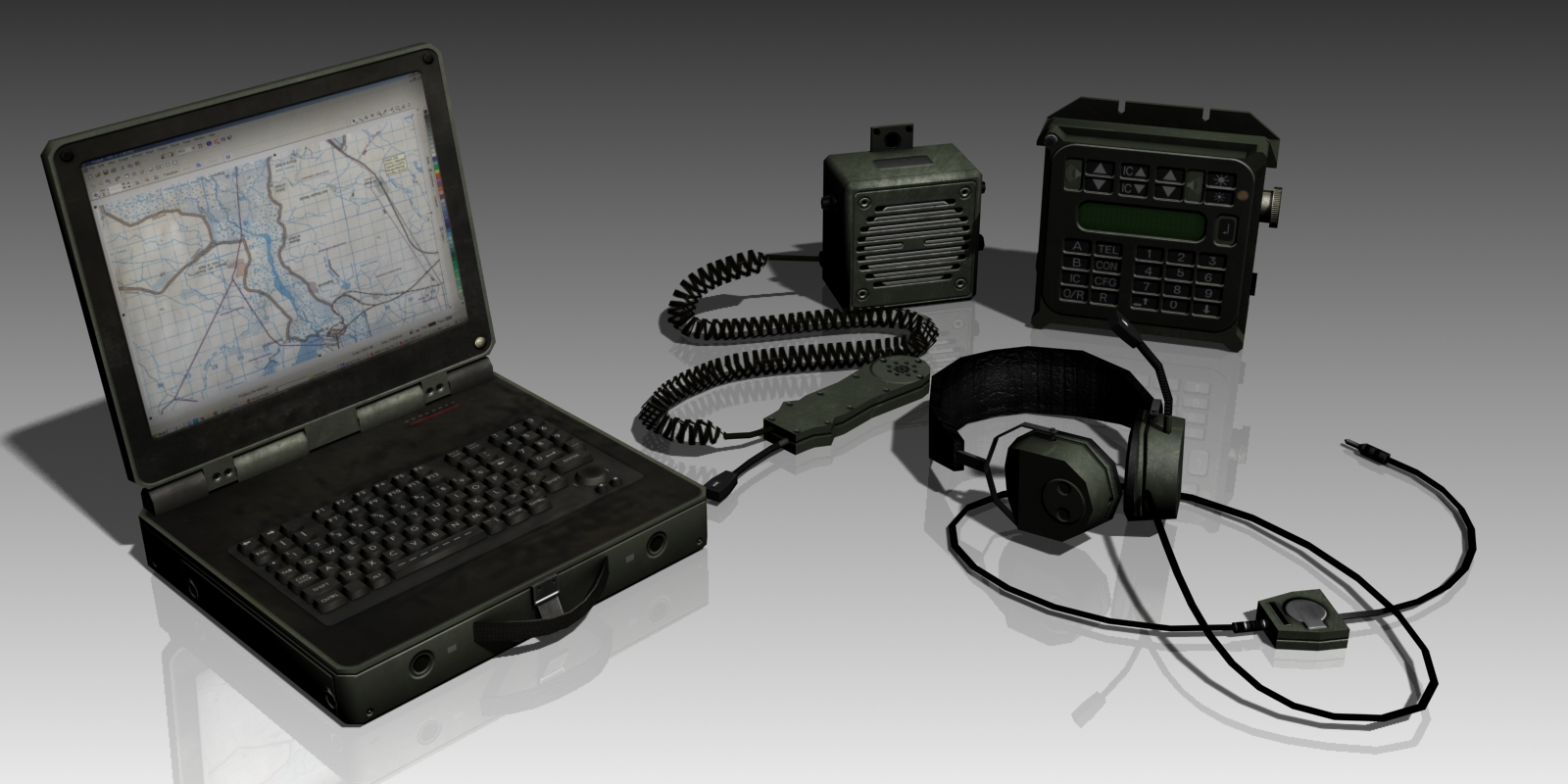 Bowman Communication Equipment