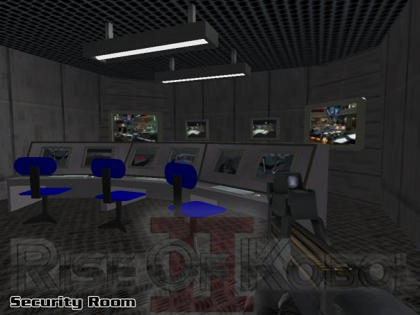 Galactica Security Room