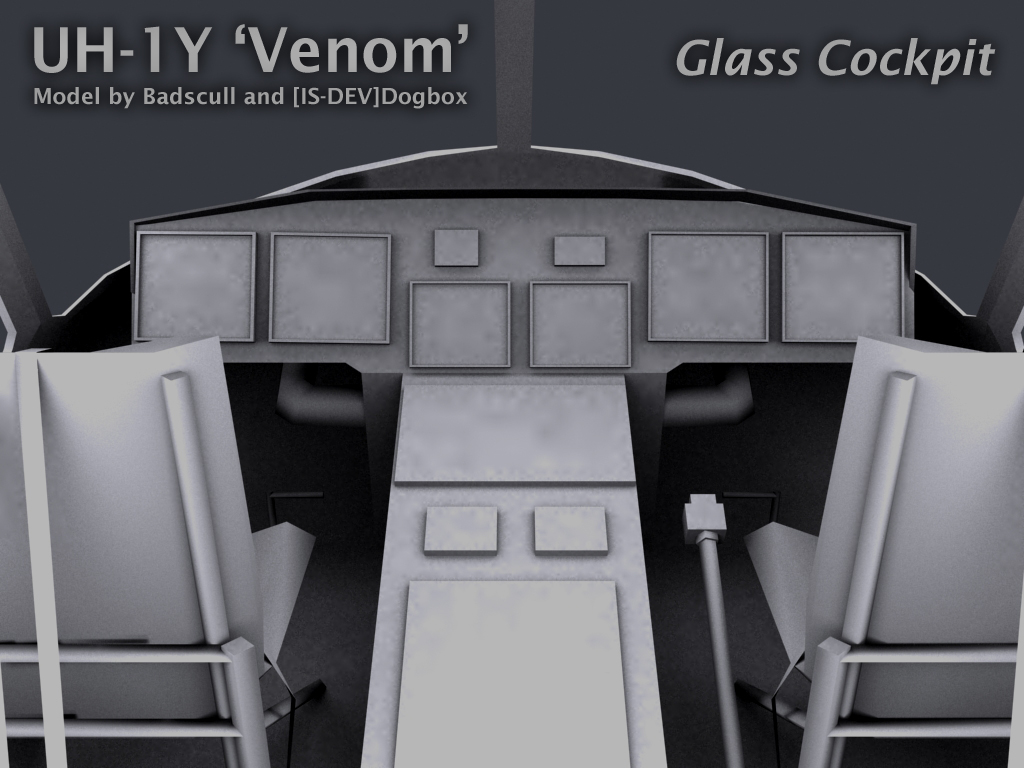 UH-1Y Venom Cockpit