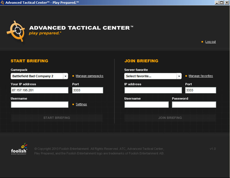 Advanced Tactical Center