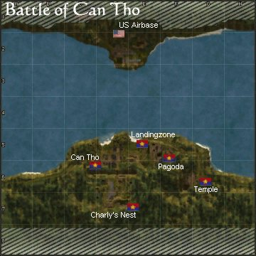 Battle of Can Tho, Briefing