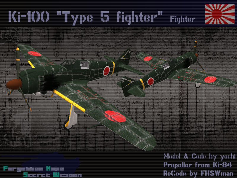 Ki-100 Type 5 Fighter