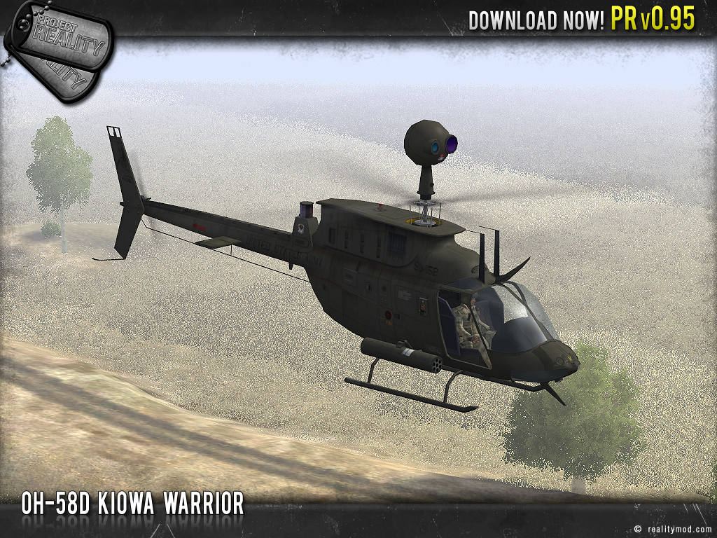 OH58D Kiowa Warrior
