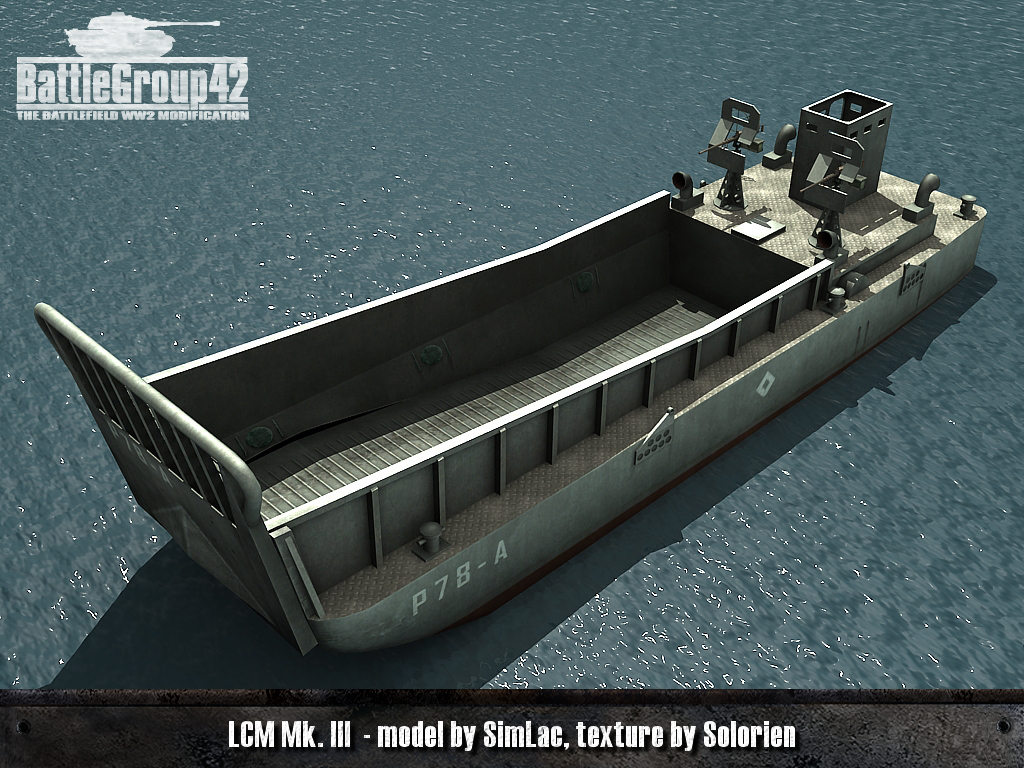 Landing Craft Mechanised 6 MK3