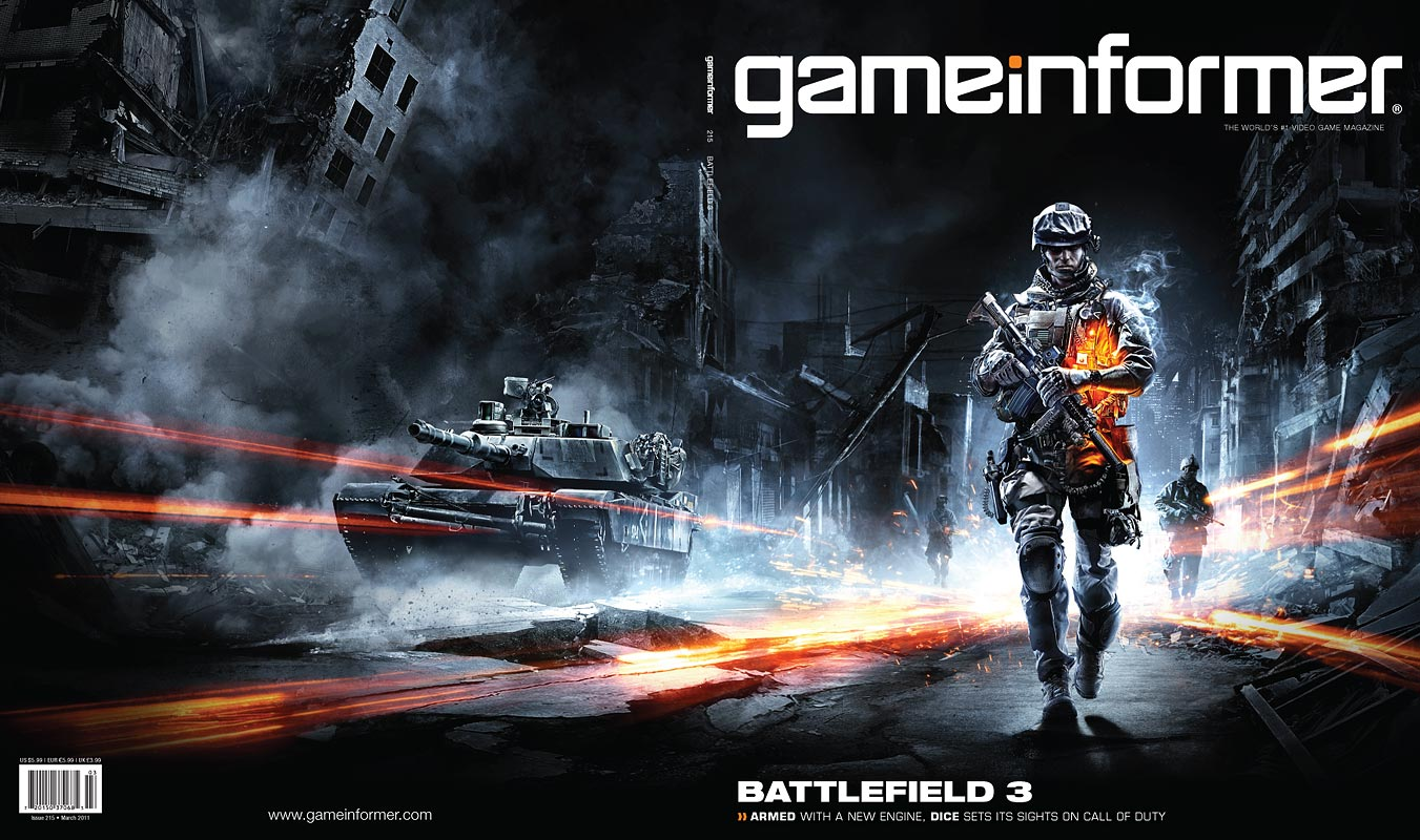 GamInformer Battlefield 3 Cover