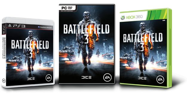 Battlefield 3 Box Versionen