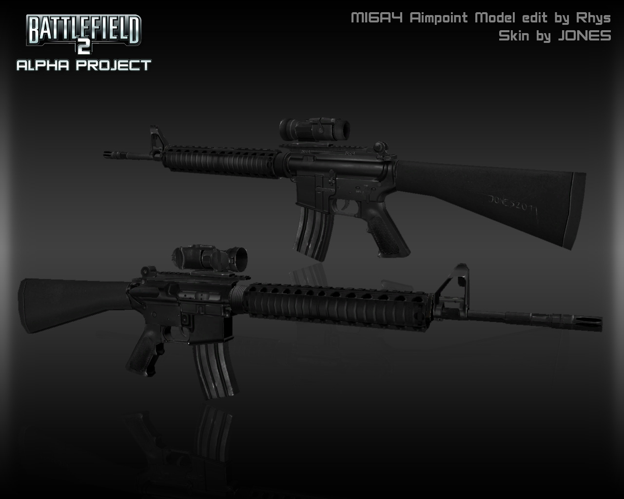 M16A4 Aimpoint
