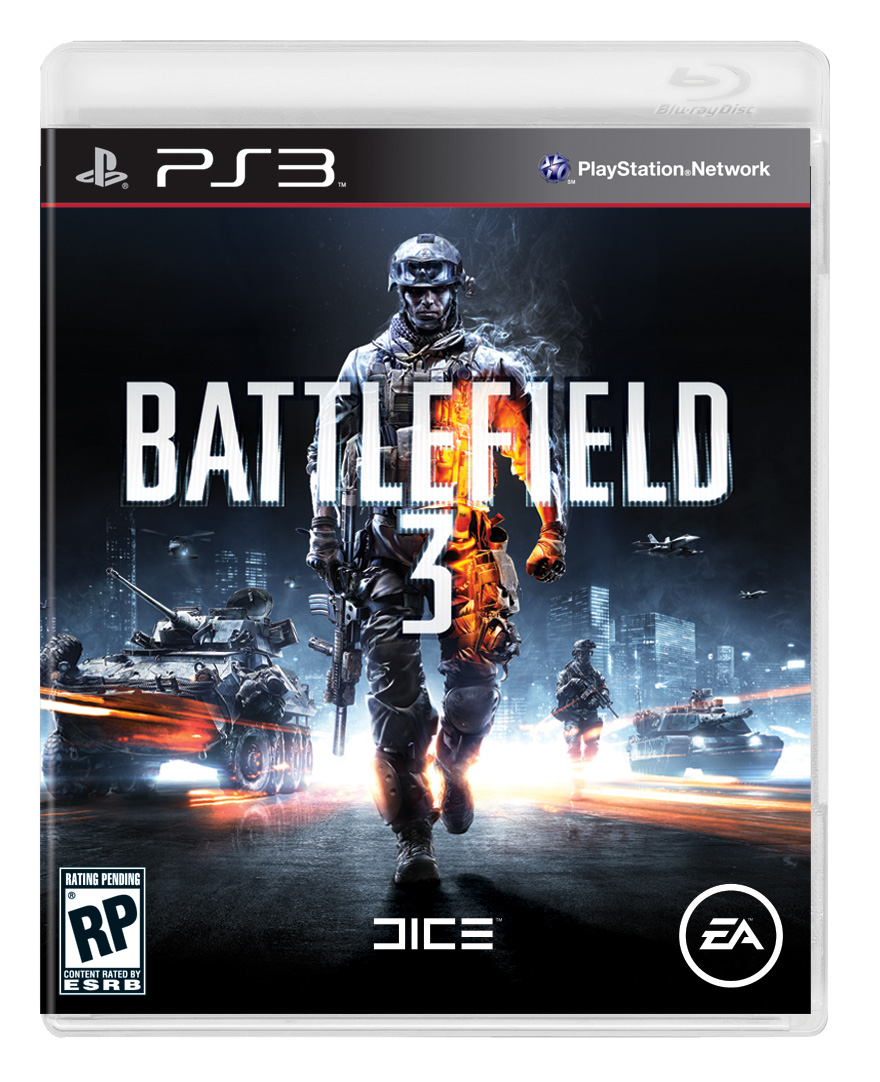 Battlefield 3 PS3 Cover