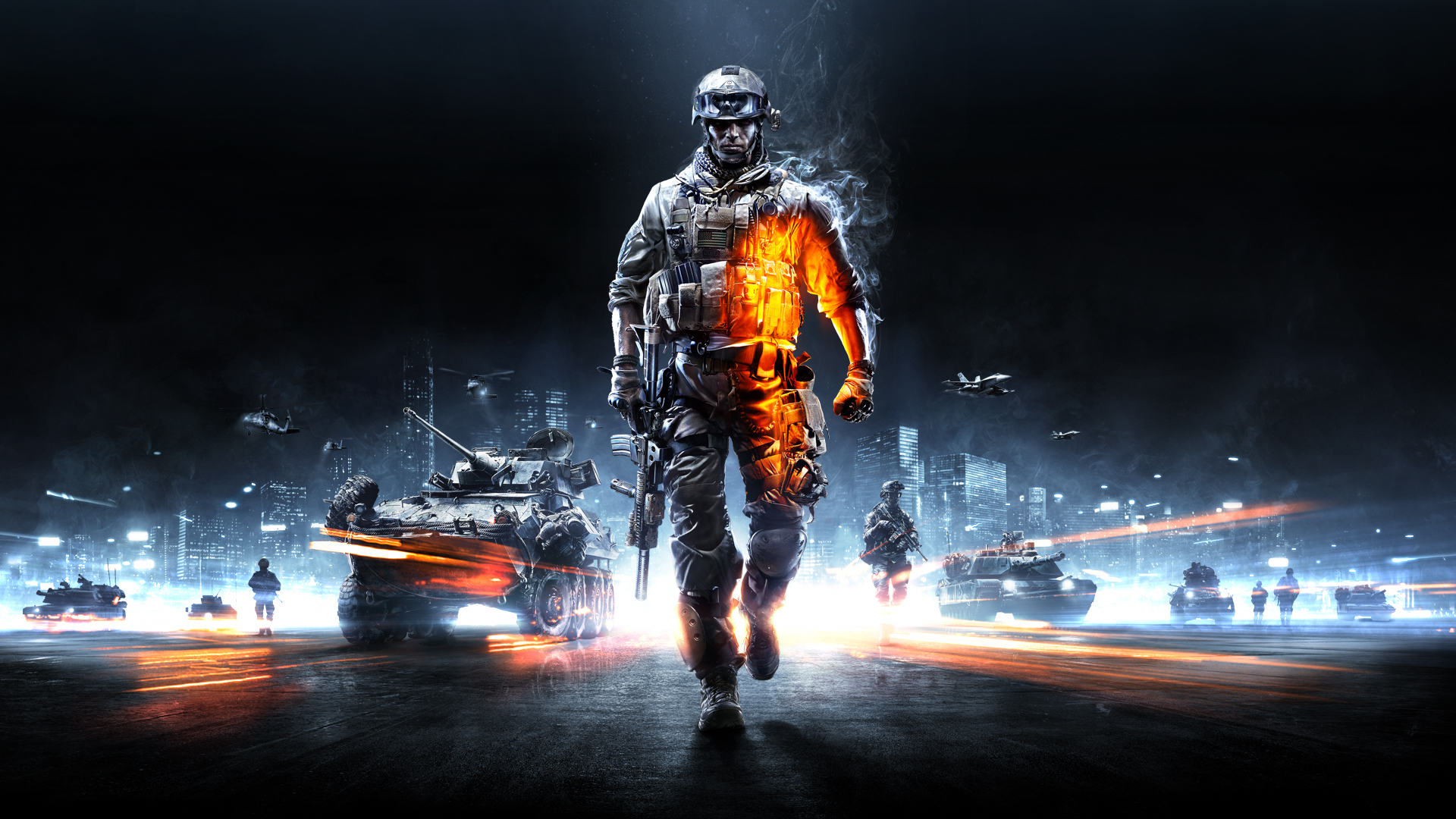 Battlefield 3 Walli 16x9 Clean