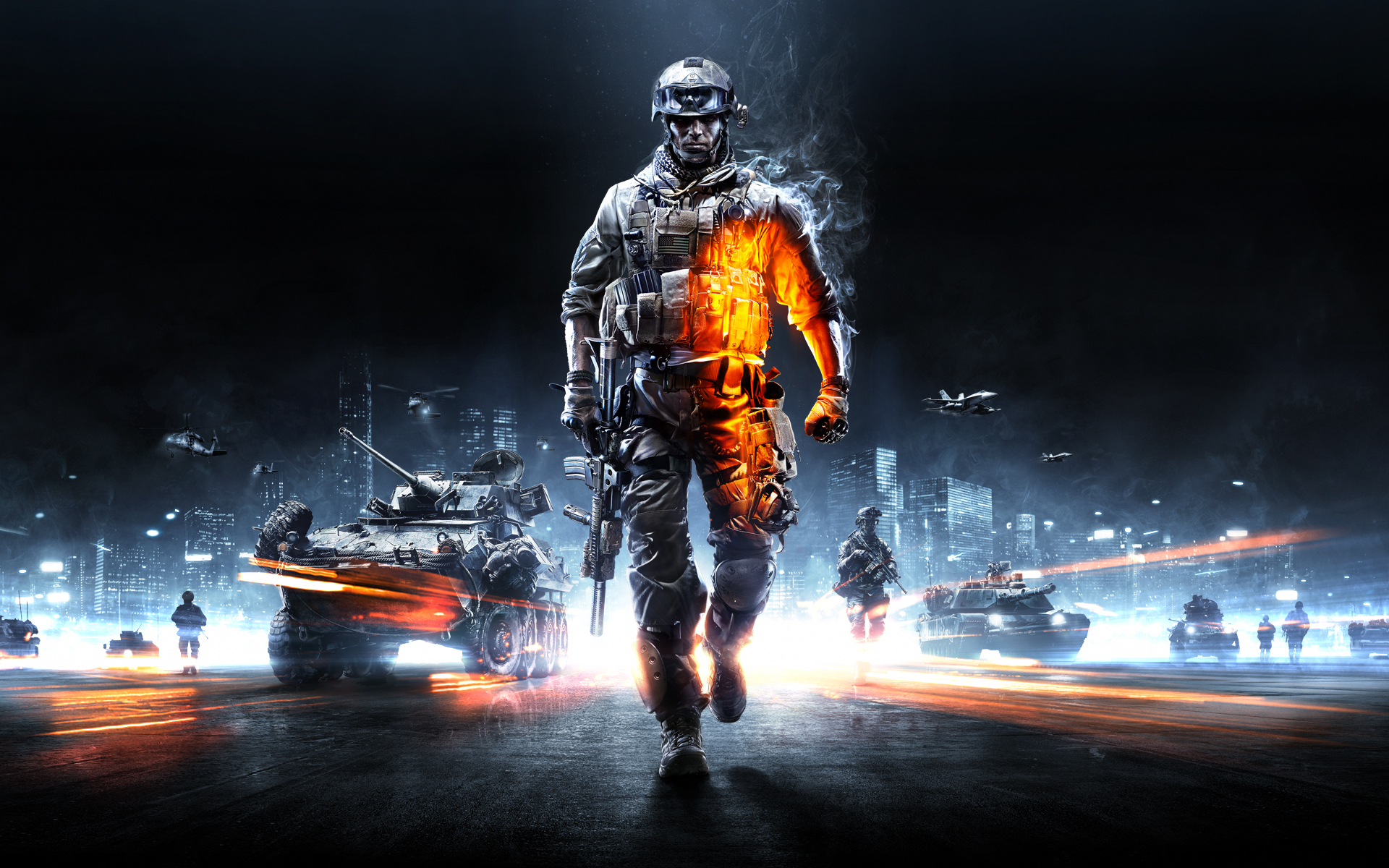 Battlefield 3 Walli 16x10 Clean