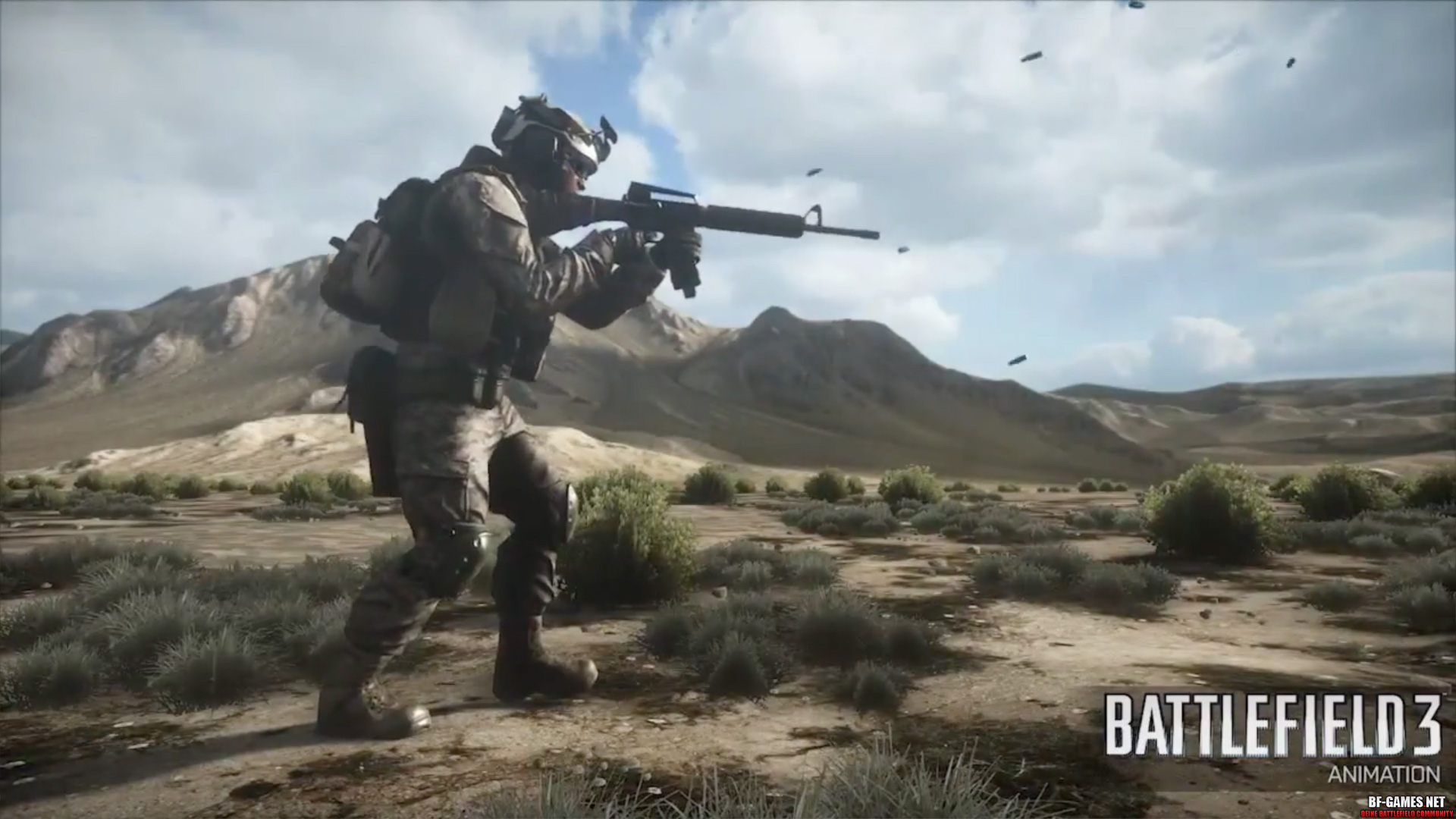 Battlefield 3 Animation
