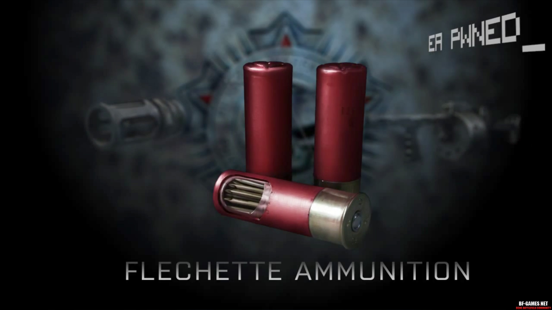 Flechette Munition
