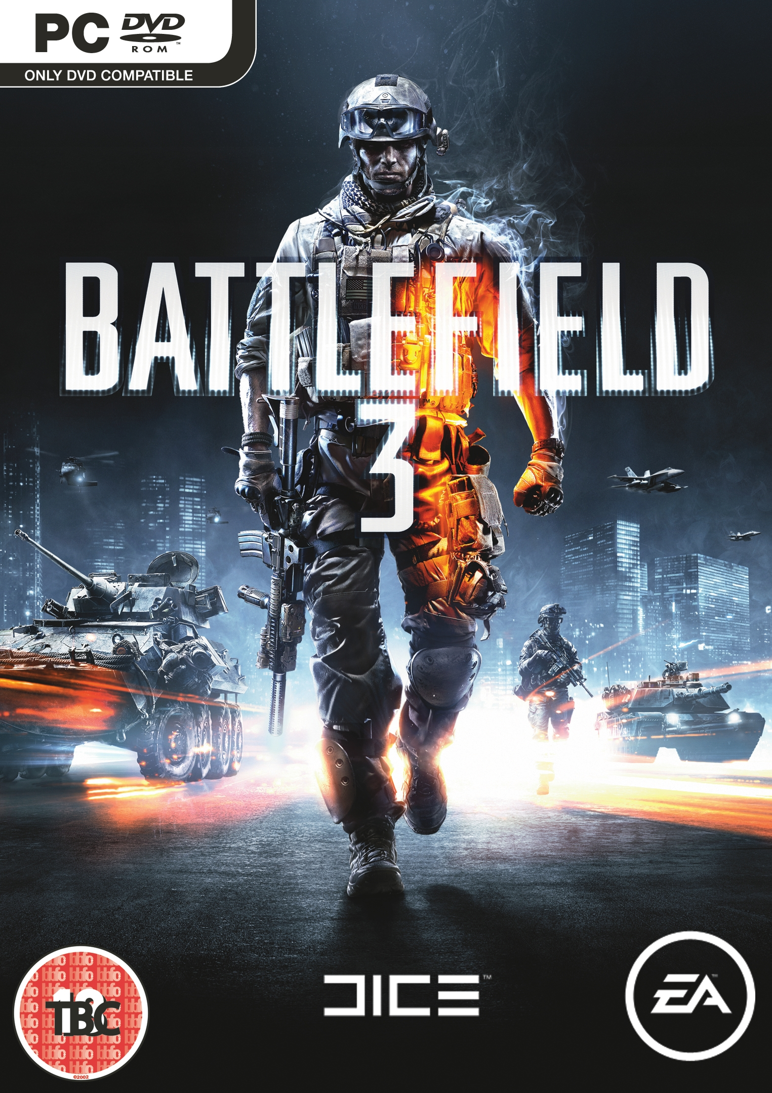 Battlefield 3 Packshot PC