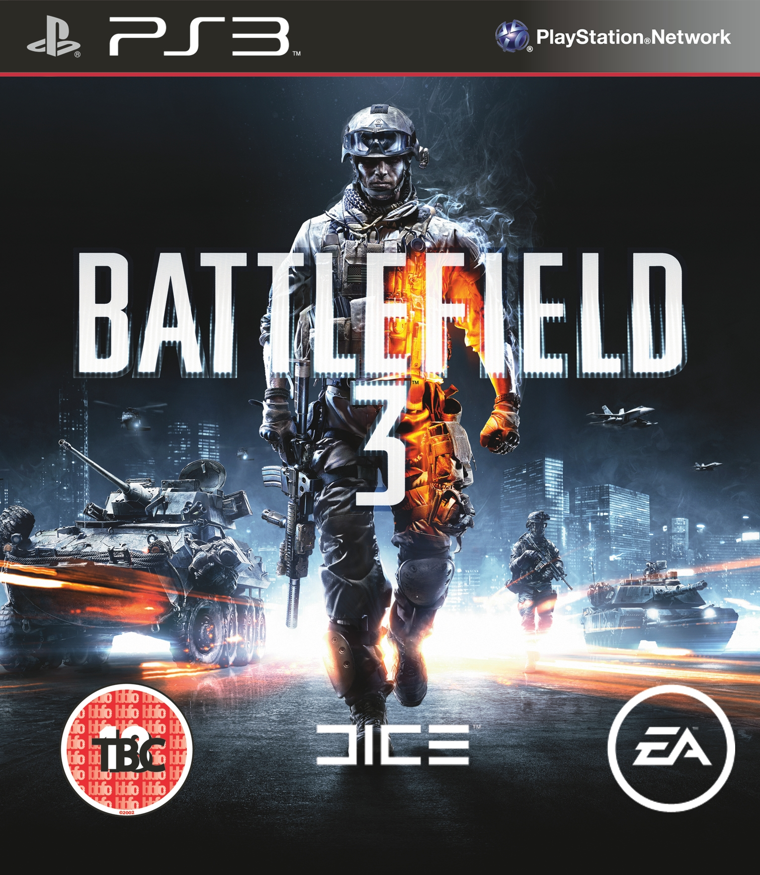 Battlefield 3 Packshot PS3