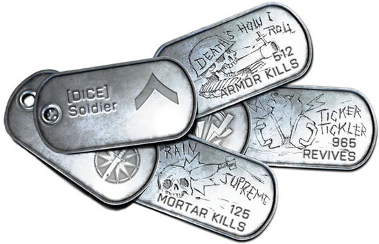 Dogtags in Battlefield 3