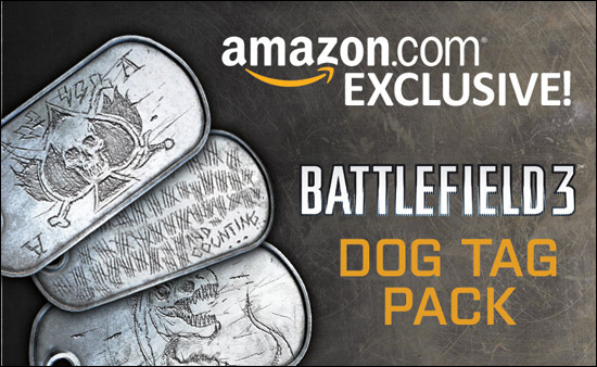 Dog Tag Pack bei Amazon
