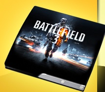 Playstation 3 im Battlefield 3 Design