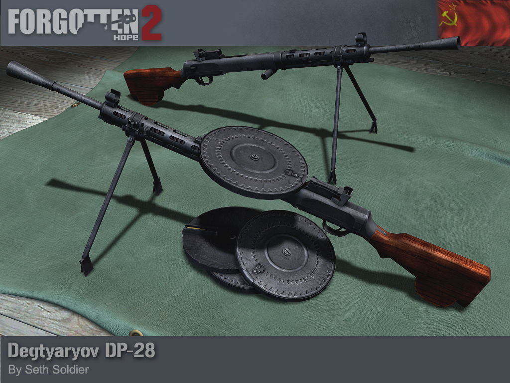 Forgotten Hope 2: Degtjarjow DP-28