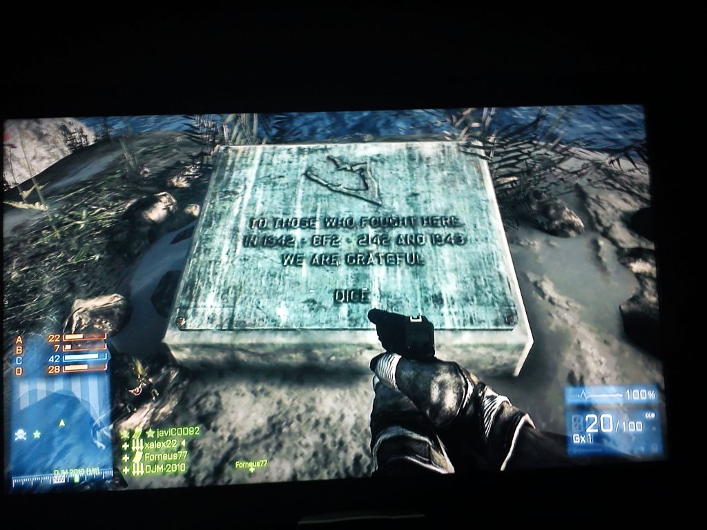 Easter Egg: Veteranentafel auf Wake