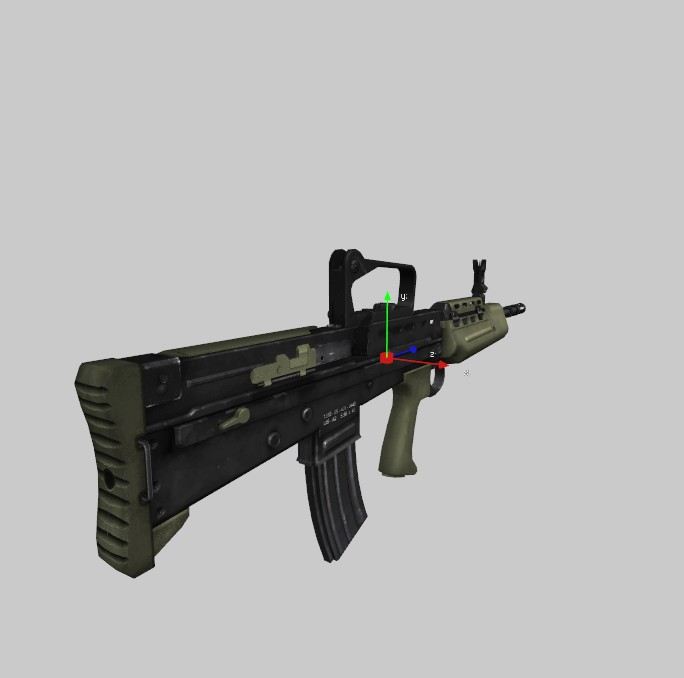 L85A2 Ironsight