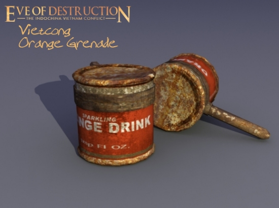 Vietcong Orange Grenade