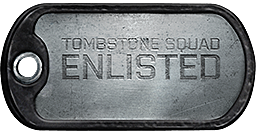 Tombstone Squad Dogtag