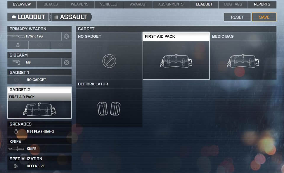 Battlefield 4 - First Aid und Med Pack