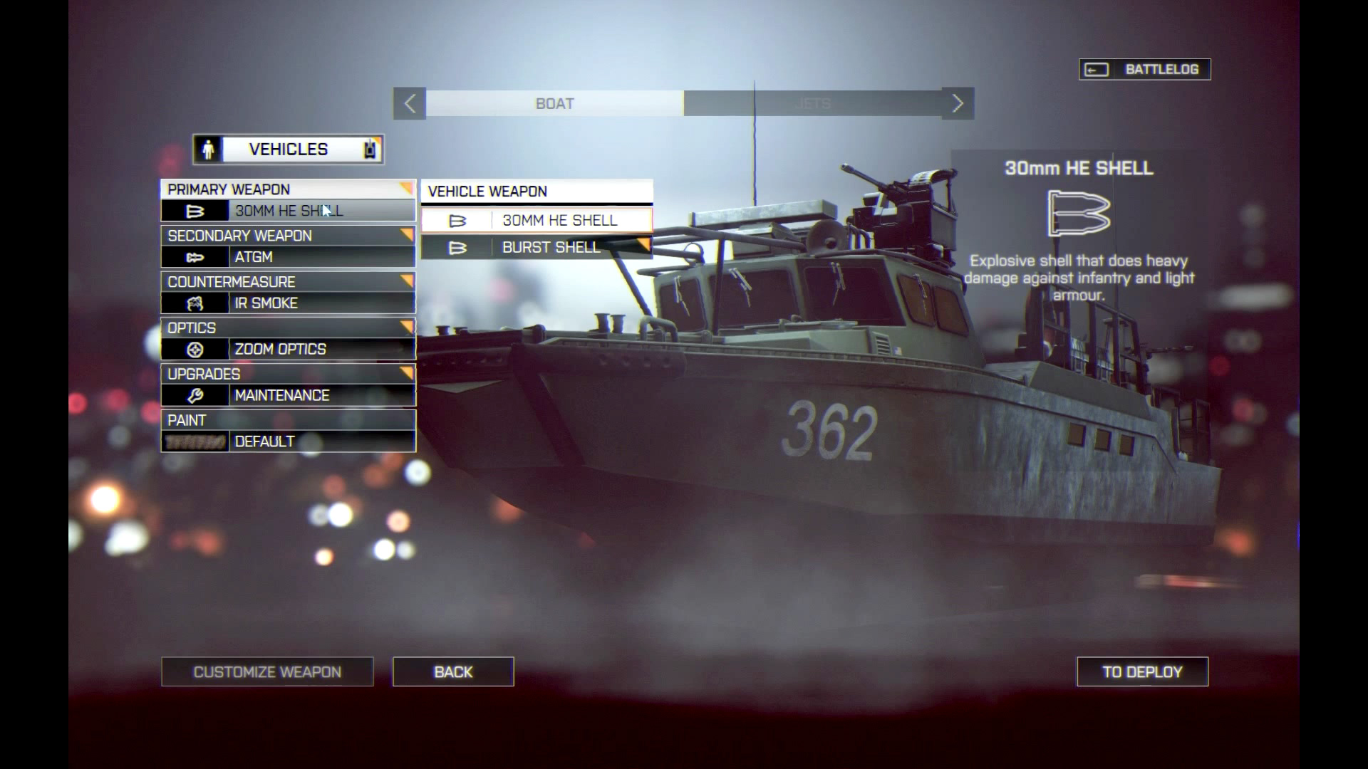 Battlefield 4 - Boot Unlocks