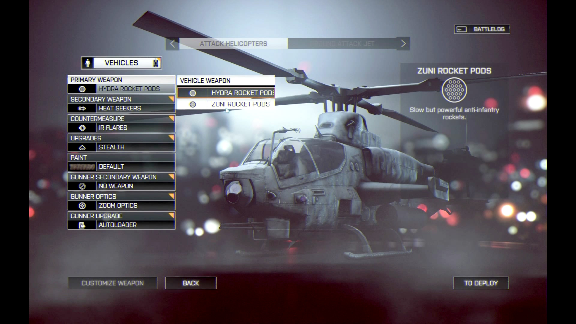 Battlefield 4 - Heli Unlocks
