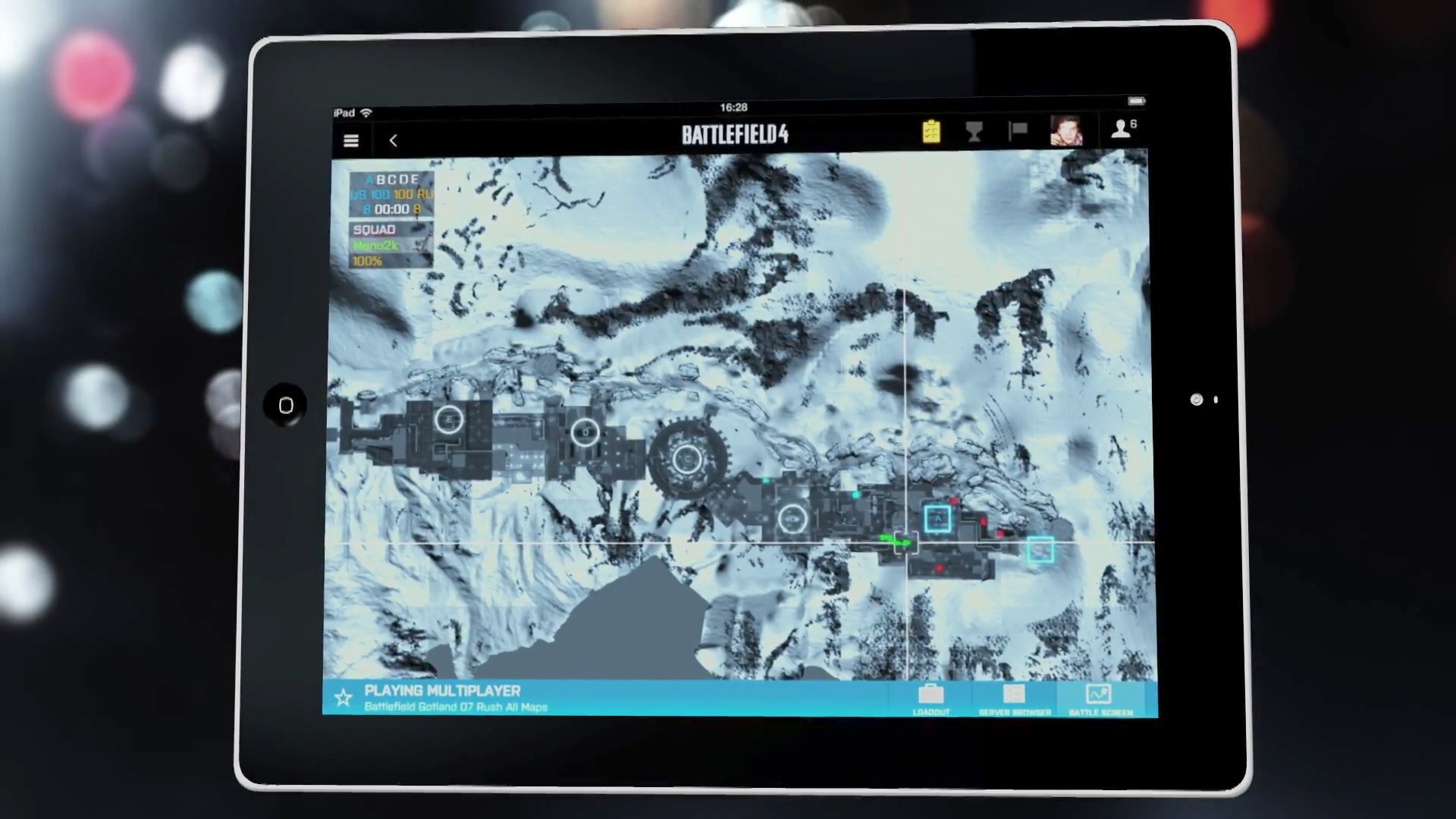 Battlefield 4 - Screen der unbekannten Map