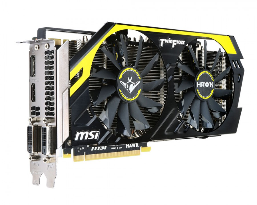 Platz 3: MSI GeForce GTX 760 HAWK PCGH