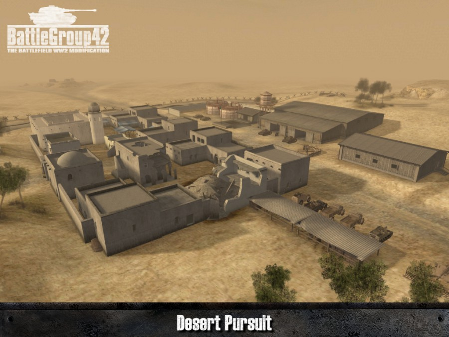 Battlegroup42: Desert Pursuit