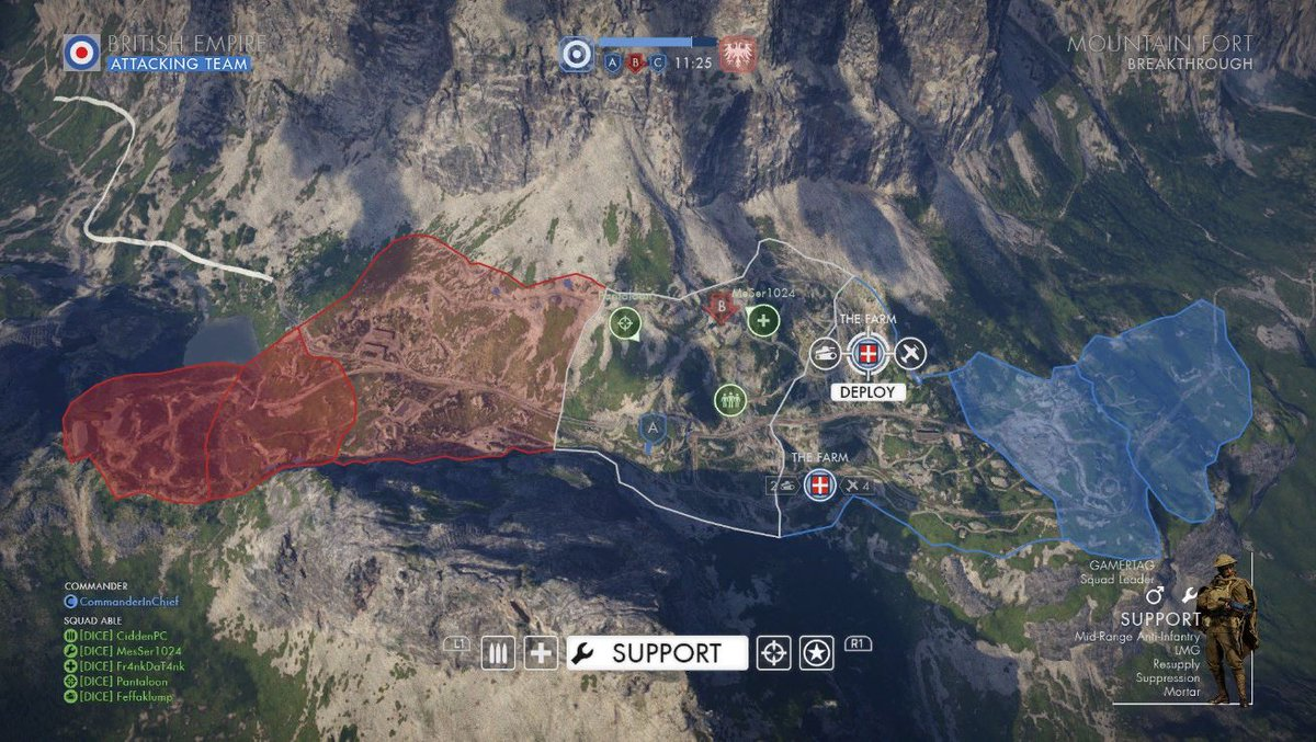 Spawn Menu Concept Art / Monte Grappa?