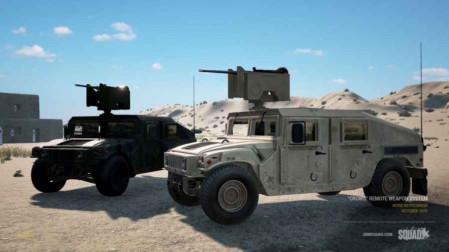 HMMWV mit CROWS