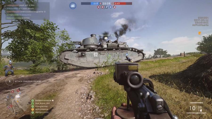 Battlefield 1: They Shall Not Pass in der CTE – Erste Eindrücke - BF