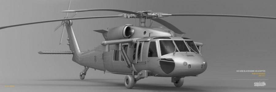 UH-60 Blackhawk Render