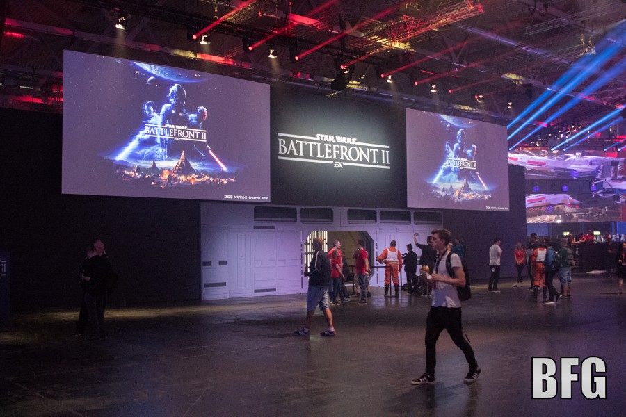 Battlefront II in der Entertainment Area