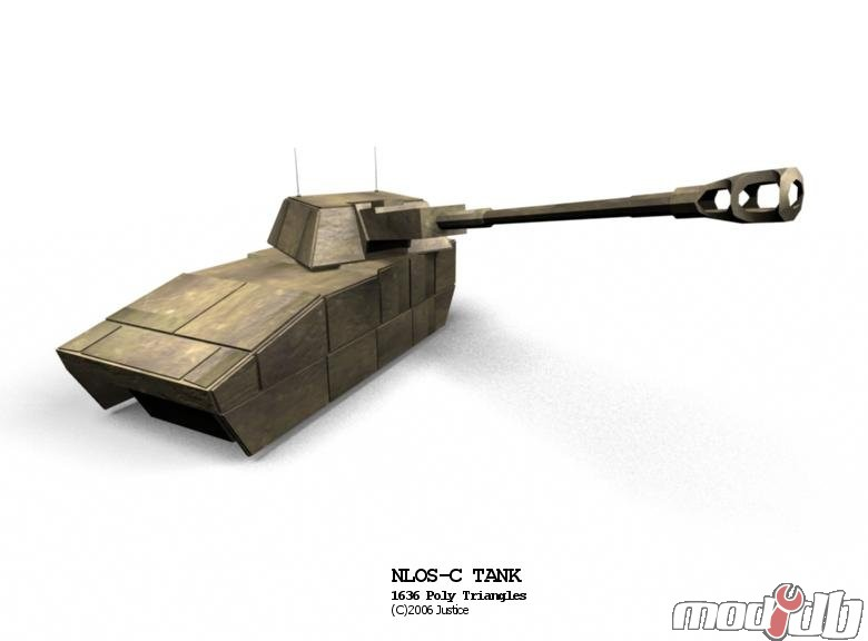 NLOS-C Tank @ Future Combat Warriors